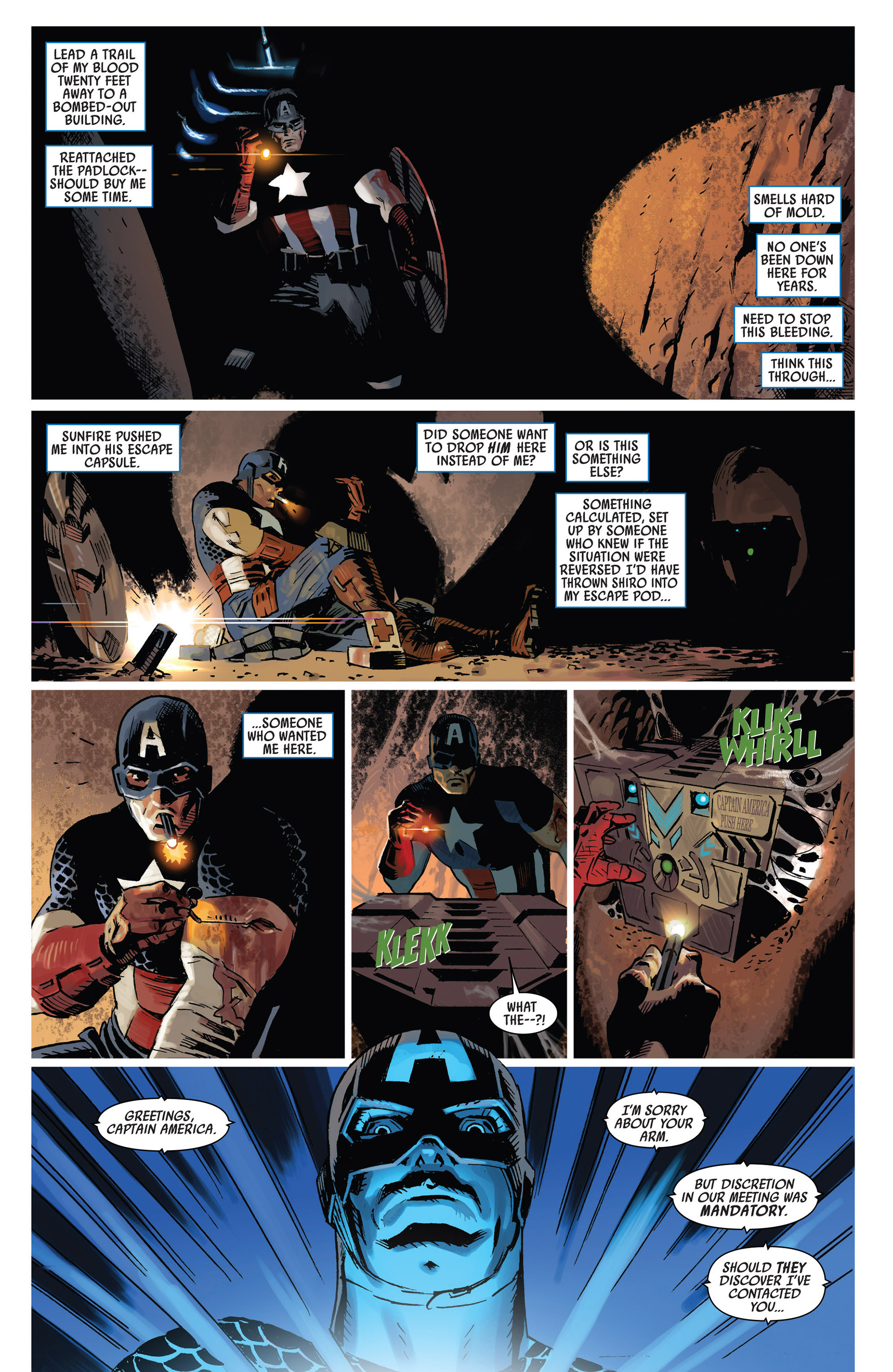 Read online Uncanny Avengers (2012) comic -  Issue #8 - 13