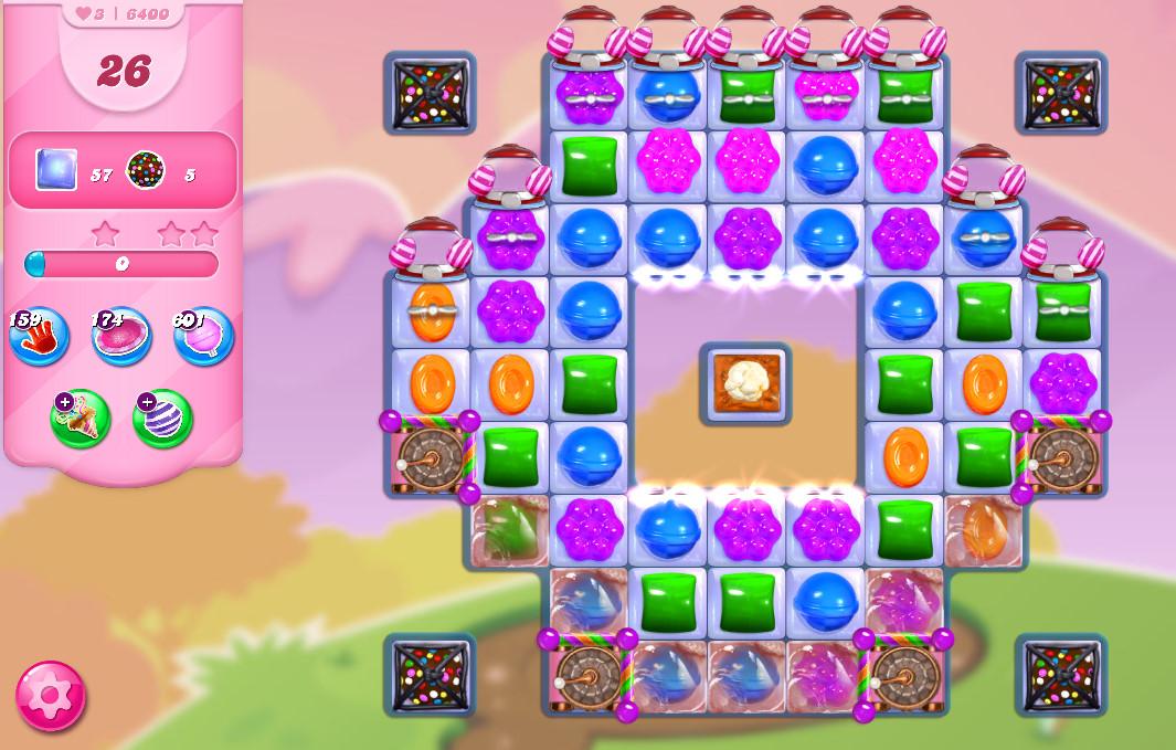 Candy Crush Saga level 6400