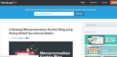 Situs Belajar Ngeblog panduanim