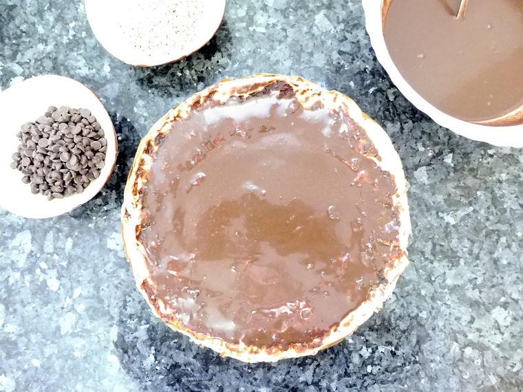 PUNTXET Tarta fácil de crepes y crema de chocolate casera #receta #recipe #tarta #cake #chocolat #chocolate #food