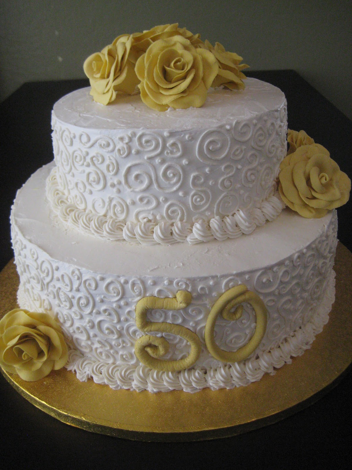 thenaughtytartebaking 50th wedding anniversary cake. Black Bedroom Furniture Sets. Home Design Ideas