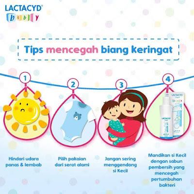 Tips Mencegah Biang Keringat Pada Bayi