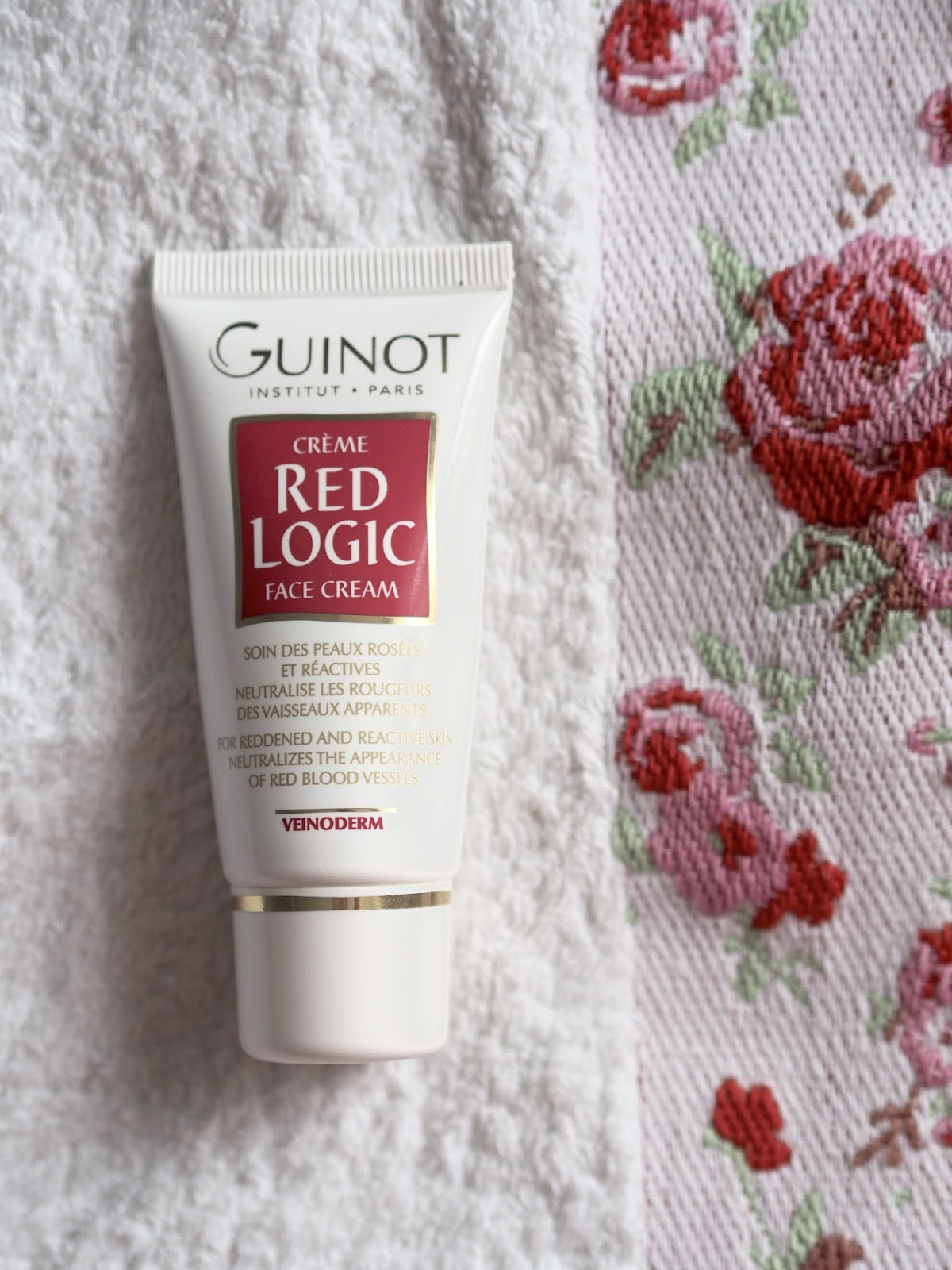 guinot red logic face cream review