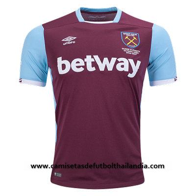 Compre el nueva camiseta del futbol baratas West Ham 2017 en tamaños para  adultos 7184cf850e04a