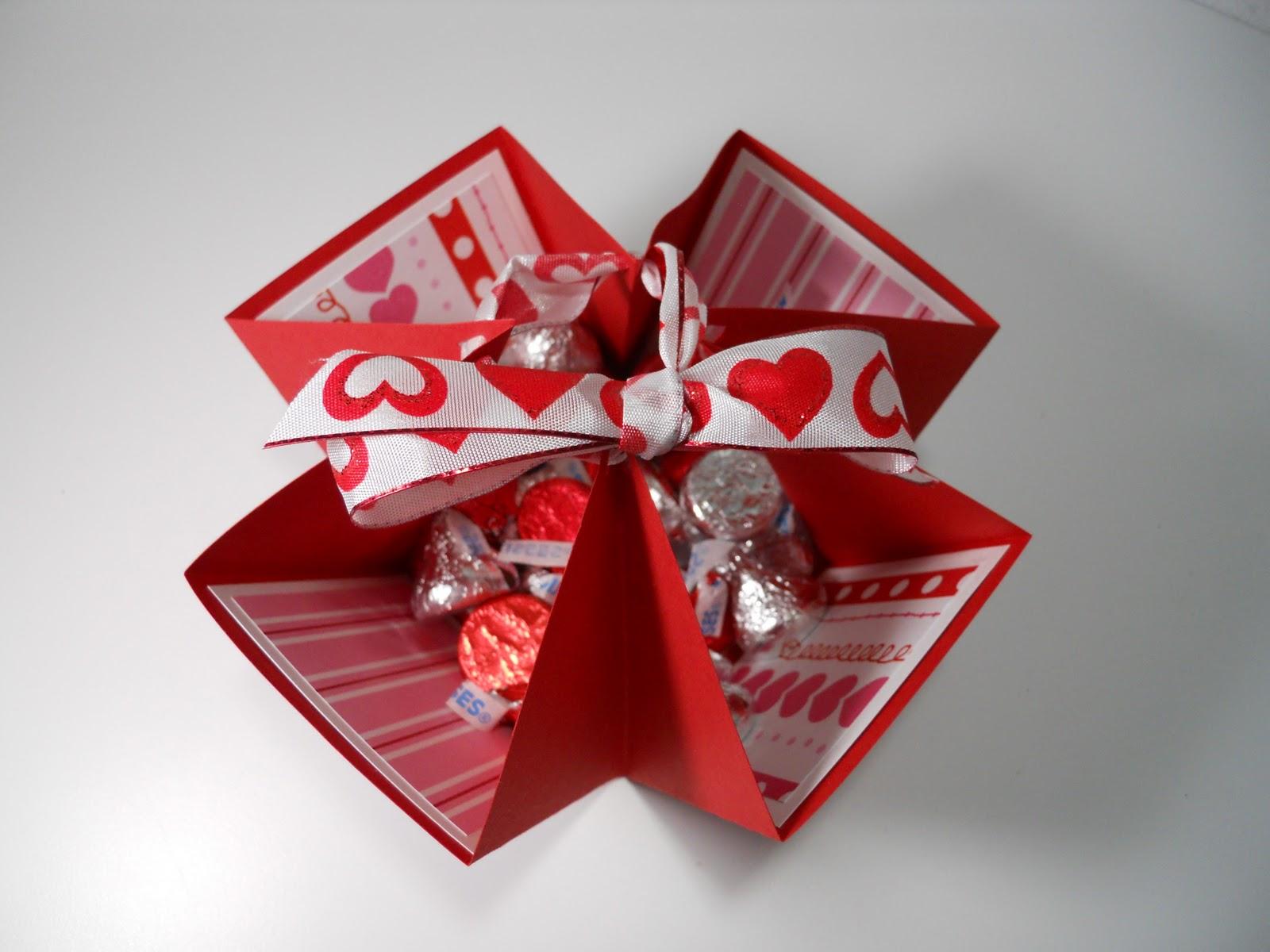 Tami S Craft Connection Simple Valentine Treat Box Bag