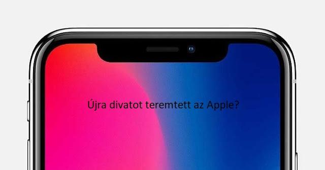 ujra divatot teremtett az Apple?