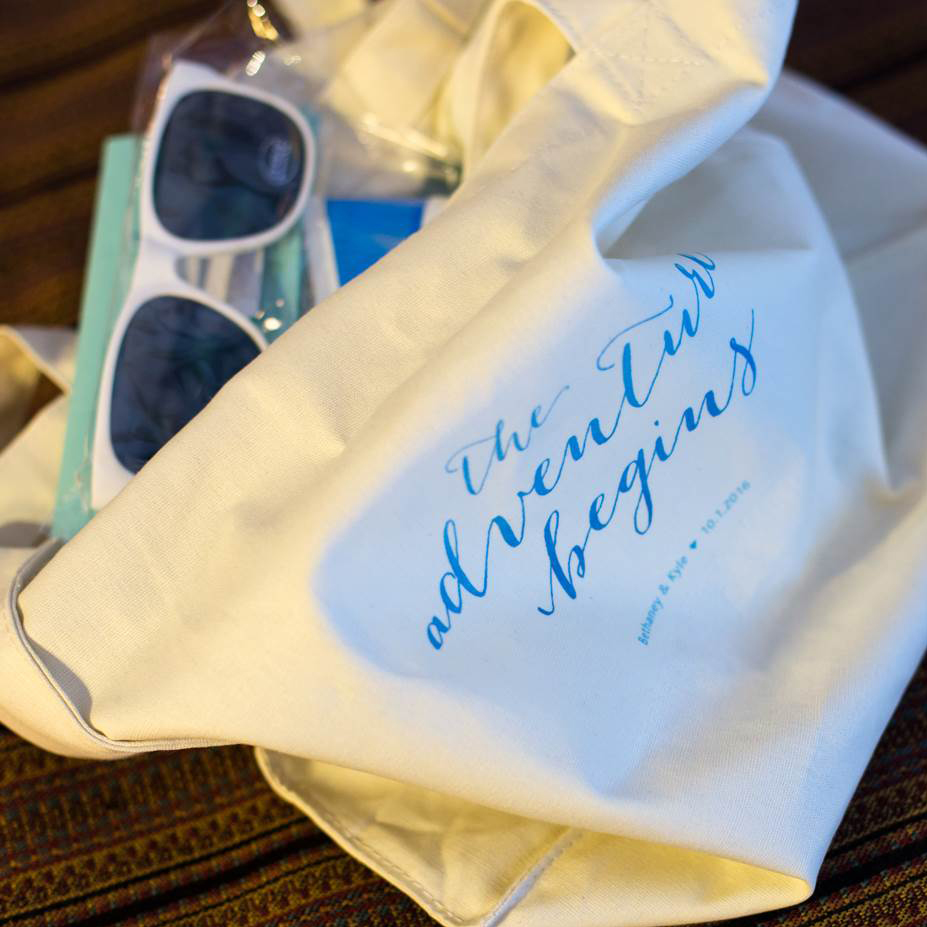 Canvas Hotel Welcome Gift Bag