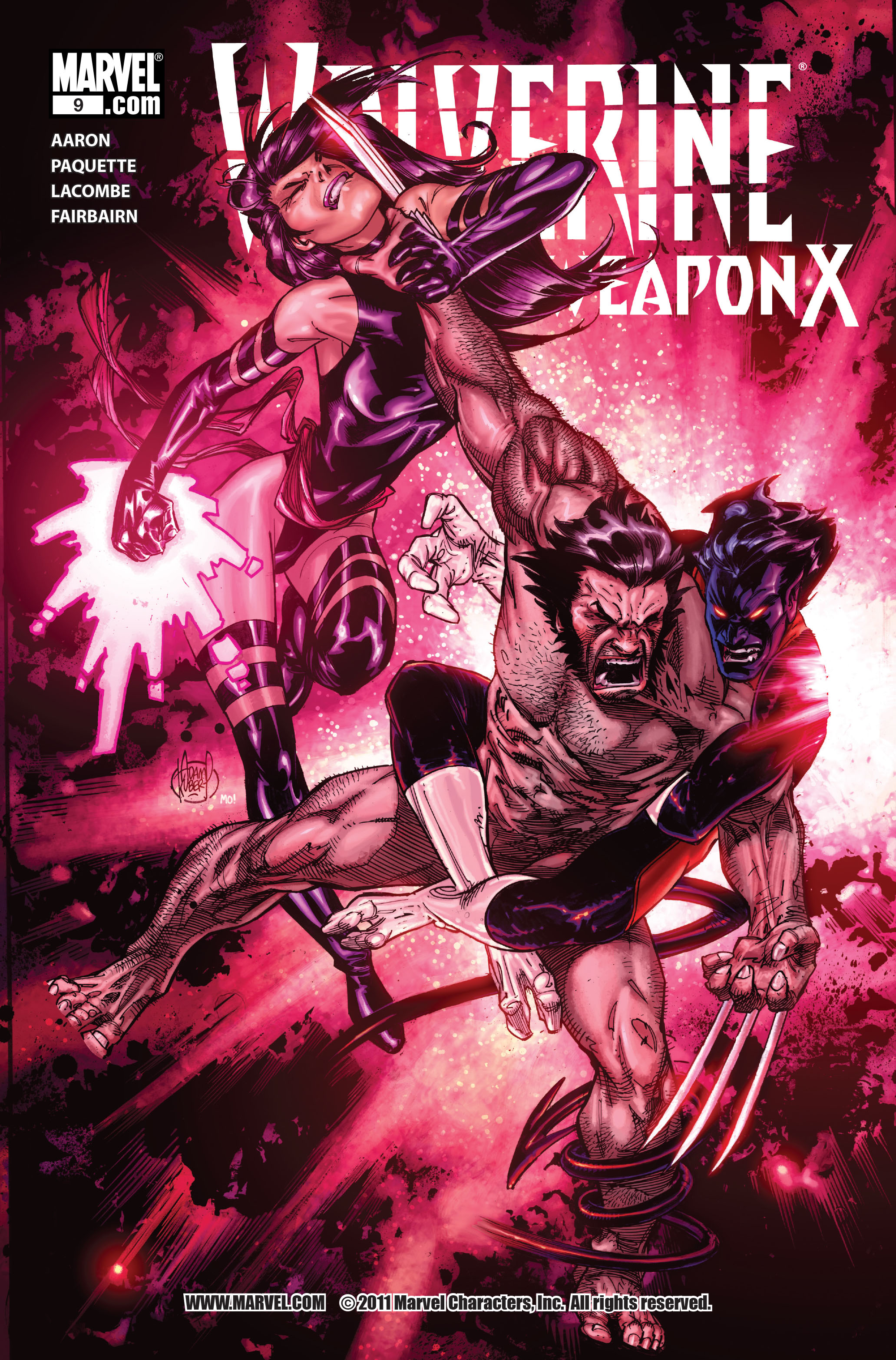 Read online Wolverine: Weapon X comic -  Issue #9 - 1