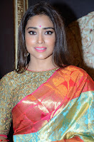 Shriya Saran Looks Stunning in Silk Saree at VRK Silk Showroom Launch Secundrabad ~  Exclusive 096.JPG