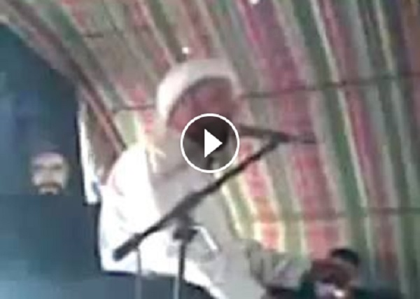Video Tokoh Syiah Tewas Tertimpa Kipas Angin saat Mencaci Sahabat Nabi