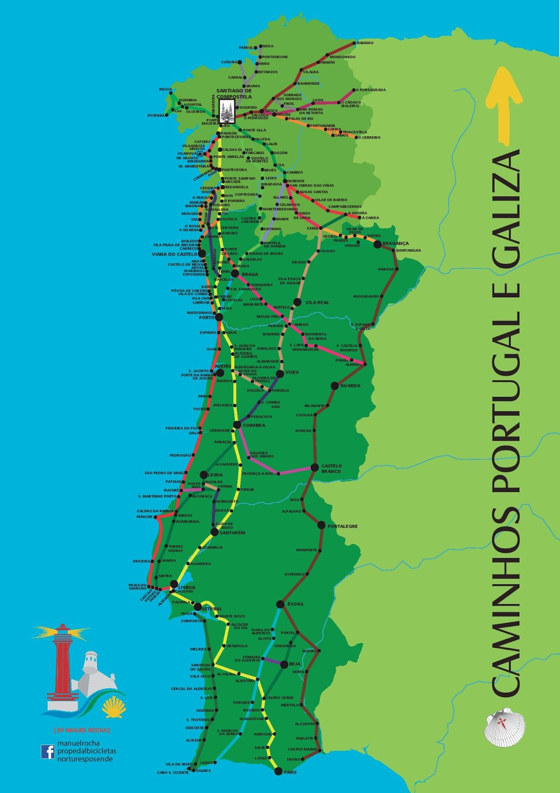 Way Of Saint James Caminho De Santiago Camino De Santiago
