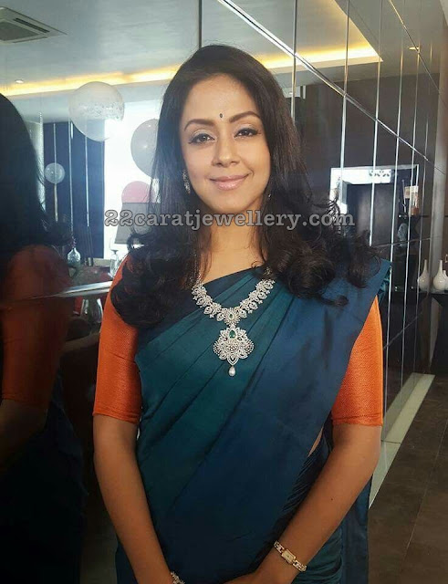 Jyothika Diamond Mango Set