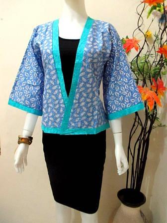 Model Batik Bolero Terbaru