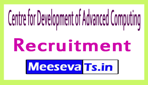 Centre for Development of Advanced Computing CDAC Recrutment
