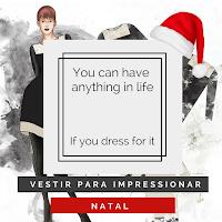 Vestir para impressionar #4 | Natal (logótipo)