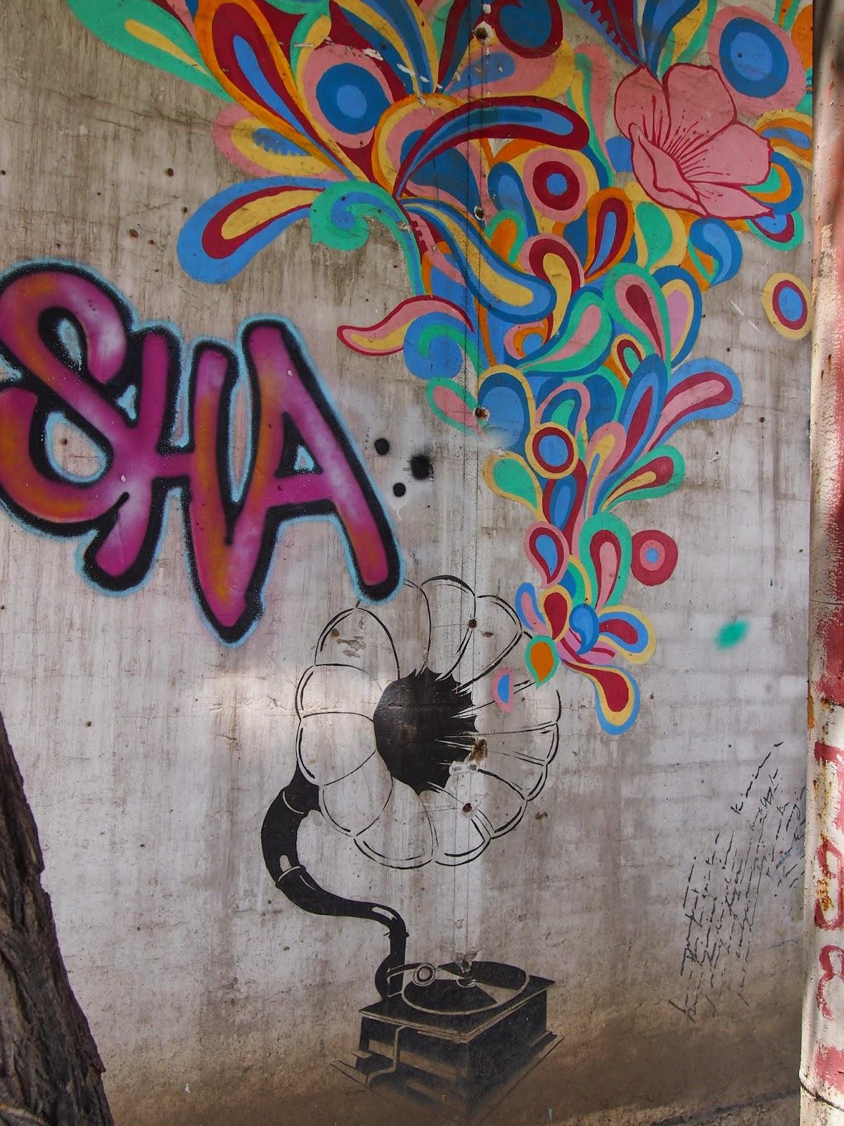 music street art