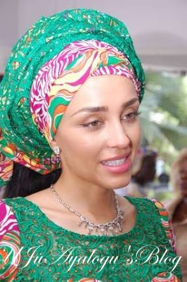 Oshiomhole's Wife, Lara Gets Nigerian Citizenship