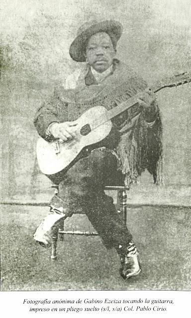 GABINO EZEIZA Y SU GUITARRA