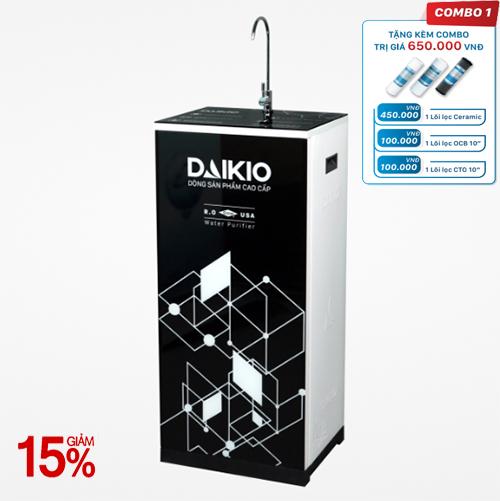 Máy lọc nước Daikio thông dụng DKW-00009H- Đen - 9 cấp