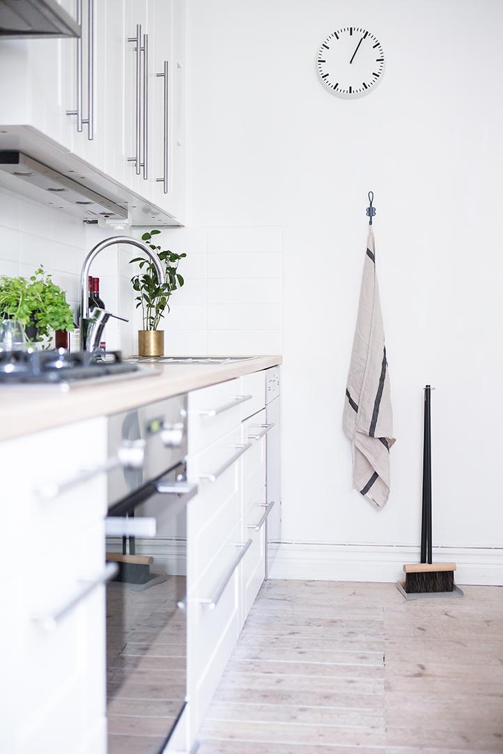 biała kuchnia, kuchnia w stylu skandynawskim