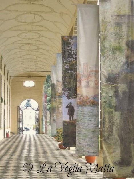 reportage Villa Manin Passariano ingresso mostra