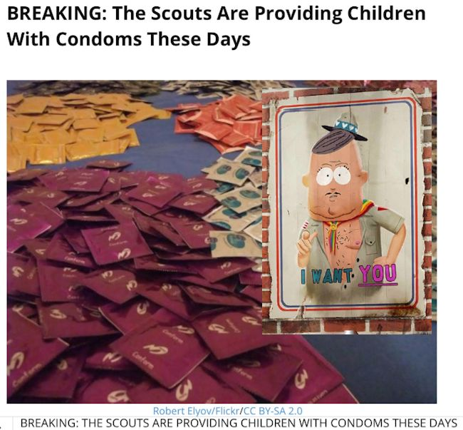 Scout Condoms