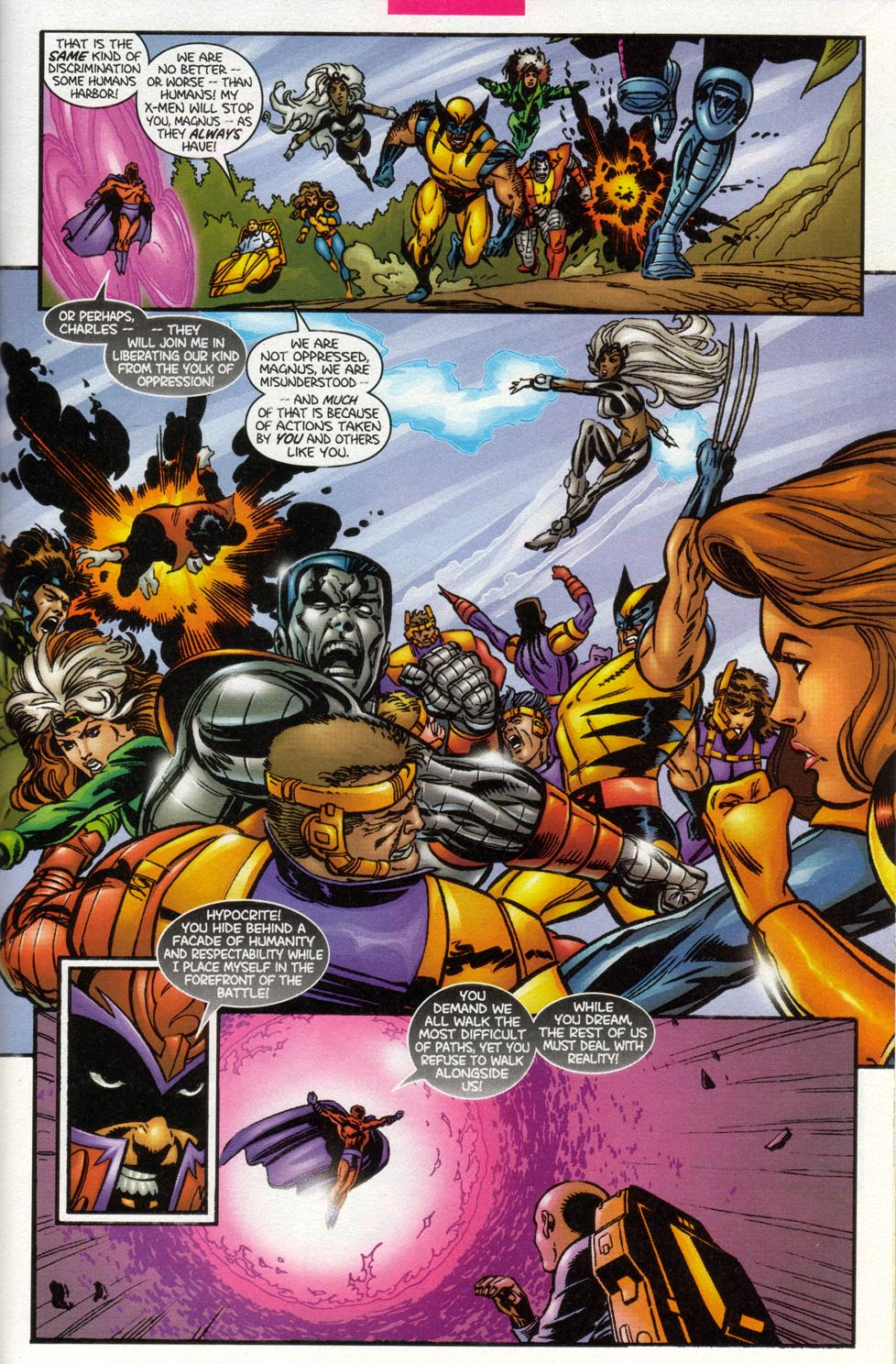 Read online X-Men: Magneto War comic -  Issue # Full - 7