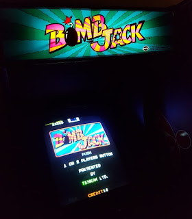 Bomb Jack at Arcade Club in Bury