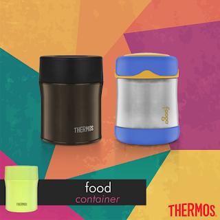 Ragam Pilihan Kotak Makanan Higienis dari Thermos KW 2B2
