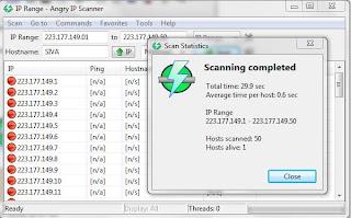 Techno Hub: Hacking Tool: Angry IP Scanner