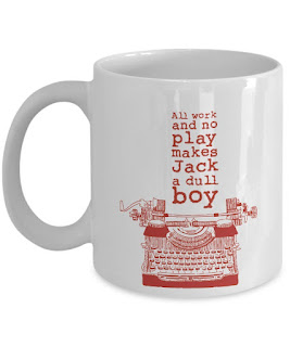The Shining, All Work And No Play Makes Jack A Dull Boy, Coffee Mug, Stephen King Store