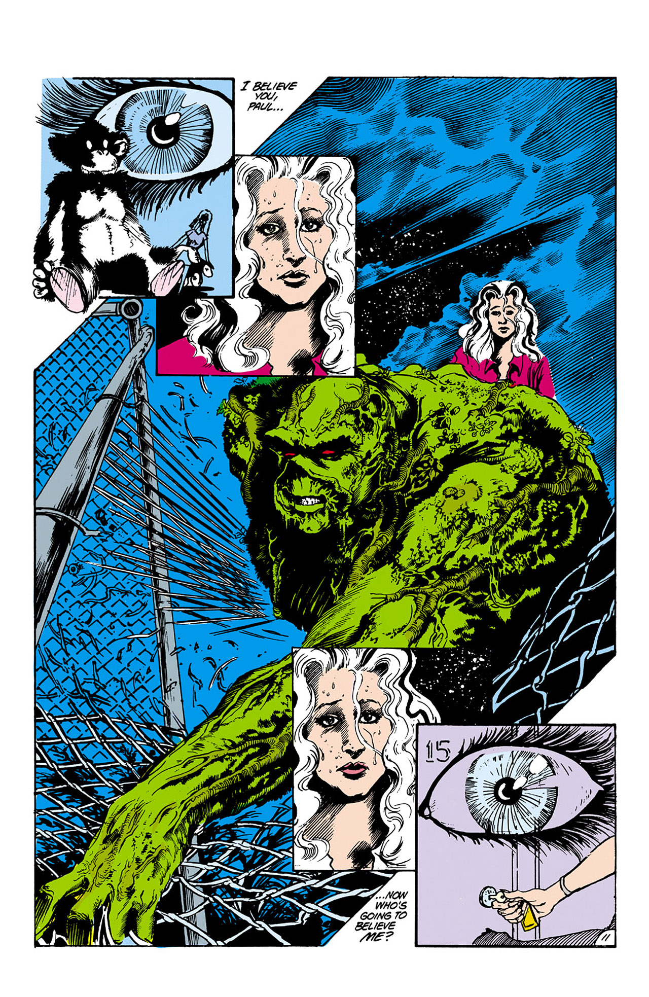 Swamp Thing (1982) Issue #26 #34 - English 11
