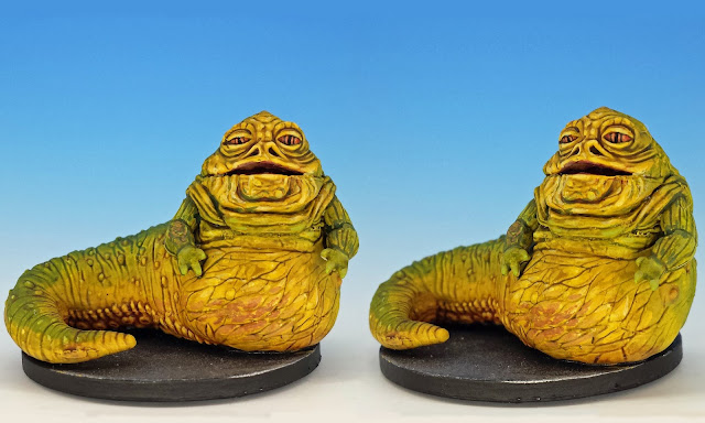 Jabba the Hutt, Imperial Assault (2016), painted miniature