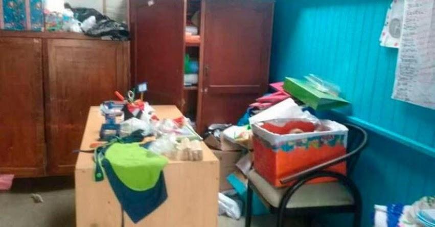 Por segunda vez, ladrones roban en jardín de niños en Nuevo Chimbote - Áncash