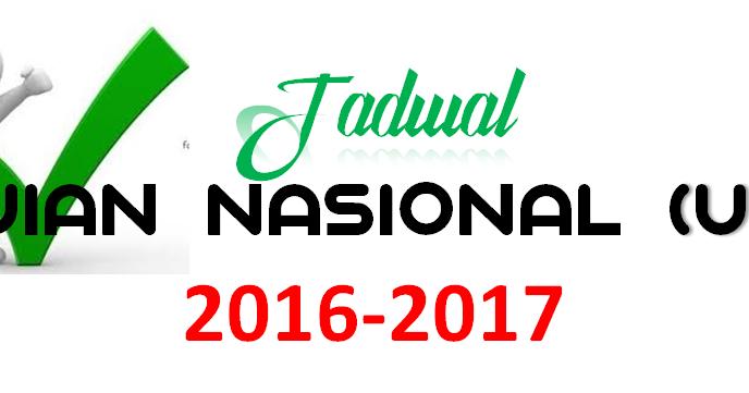 Jadwal Ujian Nasional Un 2016 2017 Jenjang Smp Mts Sma Ma Dan Smk Mak Agus Blog