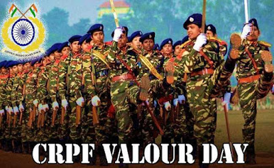 Valour Day of Central Reserve Police Force