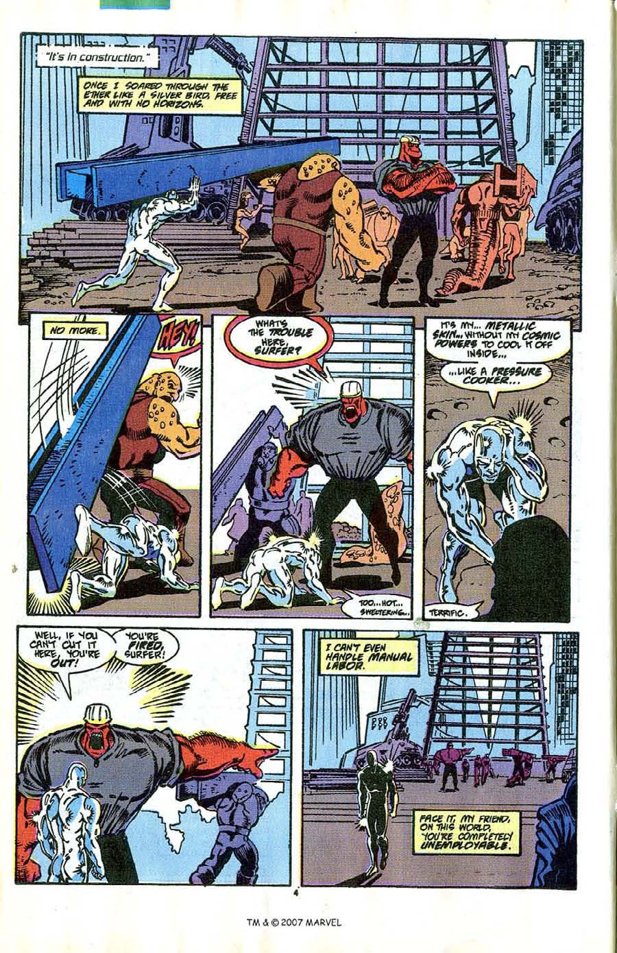 Read online Silver Surfer (1987) comic -  Issue #41 - 6