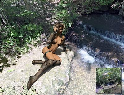 Orestes Iray HDRI Environment - Triskele Falls