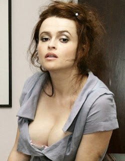 Helena Bonham Carter, boobs, hot, sexy, cleavage