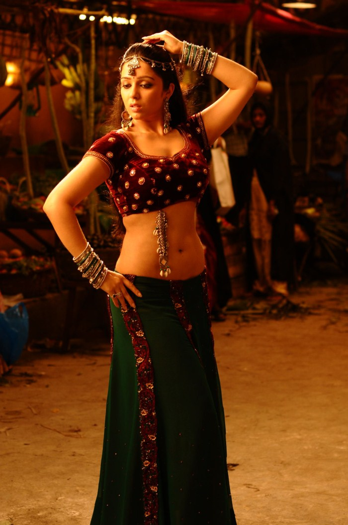 Actress Charmi Hot And Spicy Dancing Still, Charmi Navel