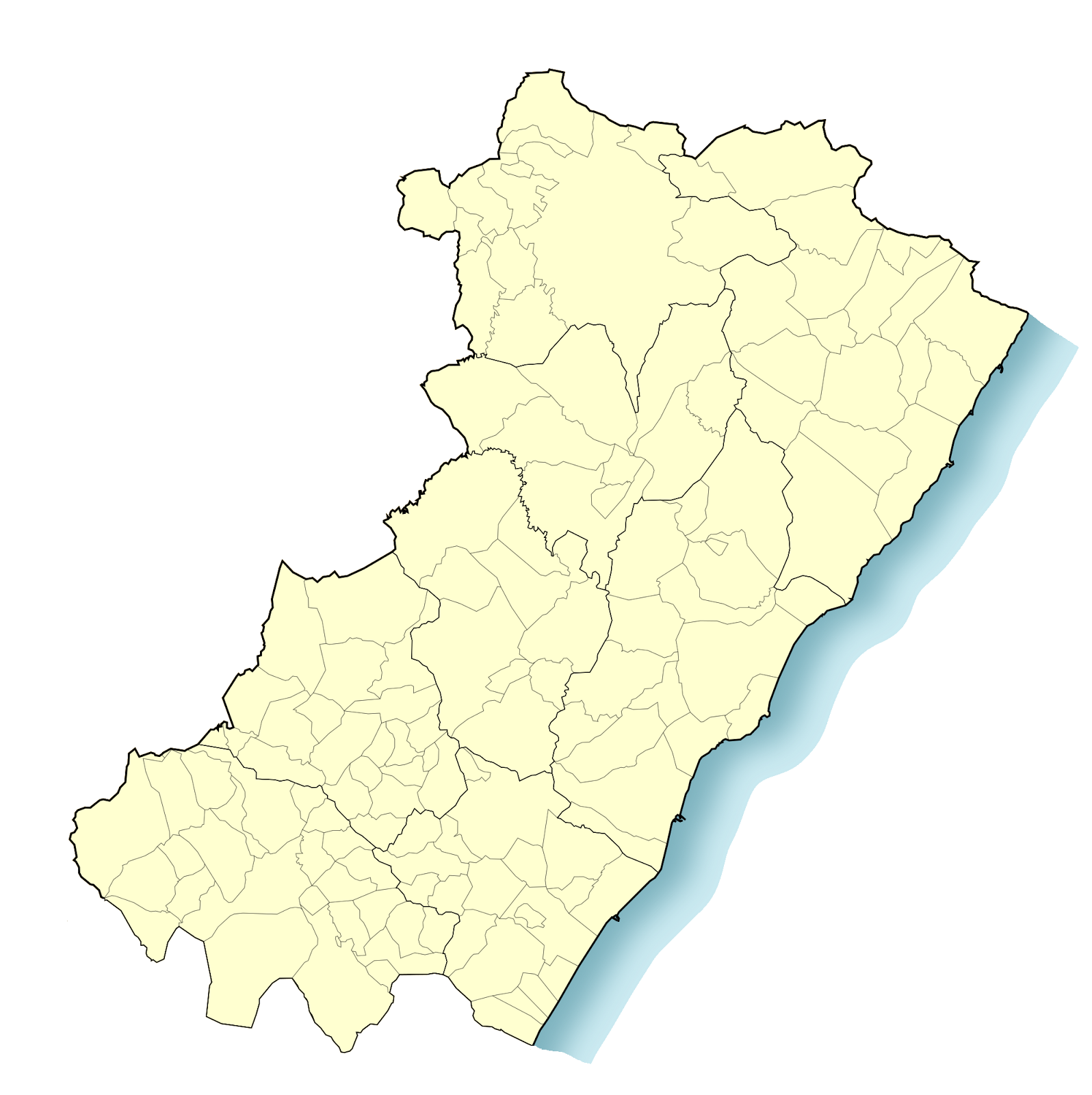 Mapa Provincia Castellon Municipios.Fusion De Municipios De Espana Abril 2013