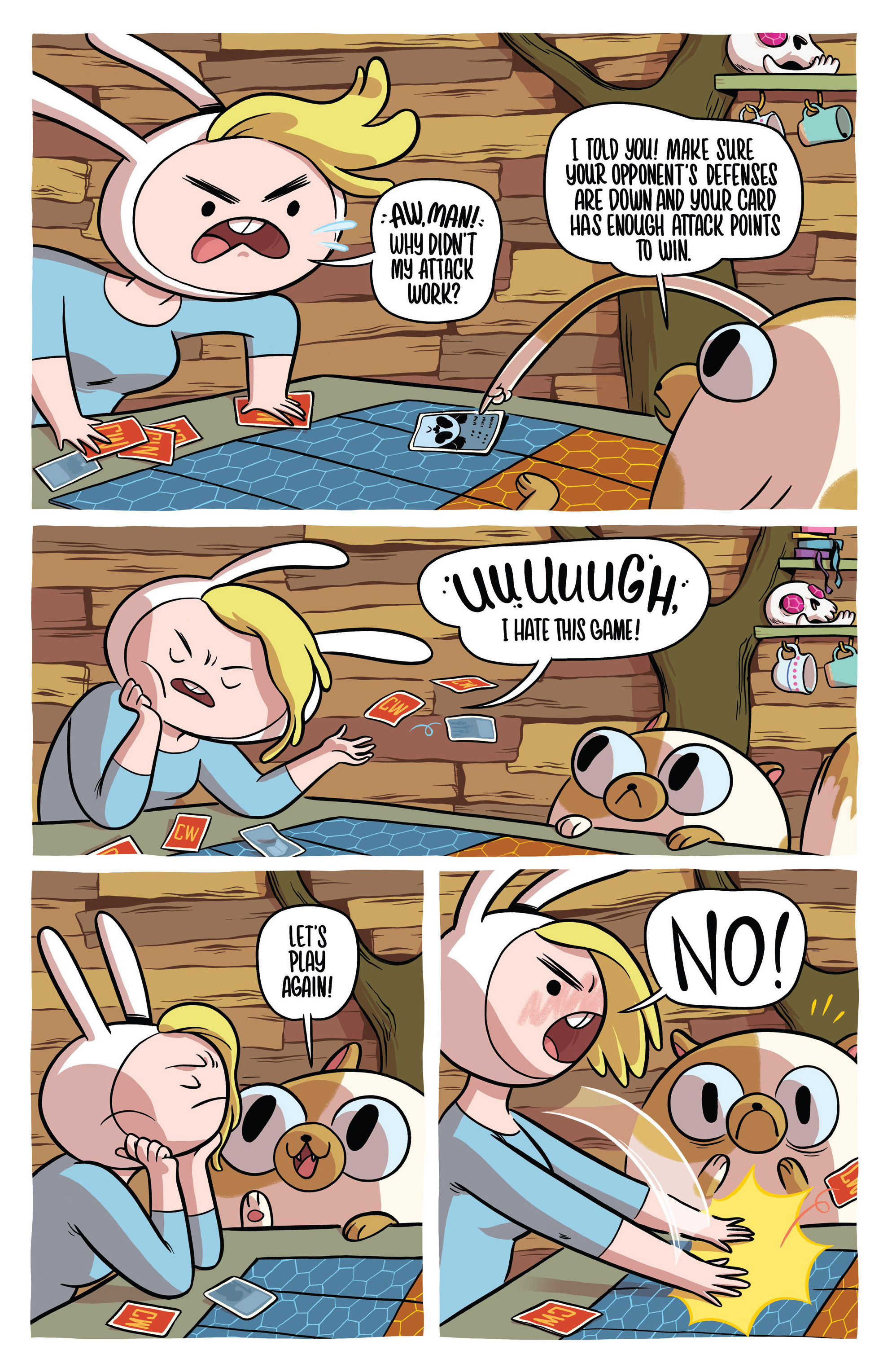 Read online Adventure Time Fionna and Cake Card Wars comic -  Issue #1 - 10