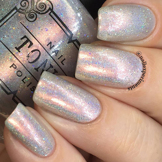 tonic polish swatch of one million flowers