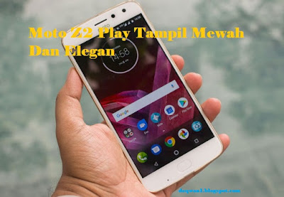 Moto Z2 Play Android Smartphone