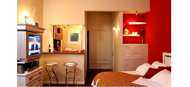 Home decorating ideas decorate a very small study - Very small house decorating ideas ...