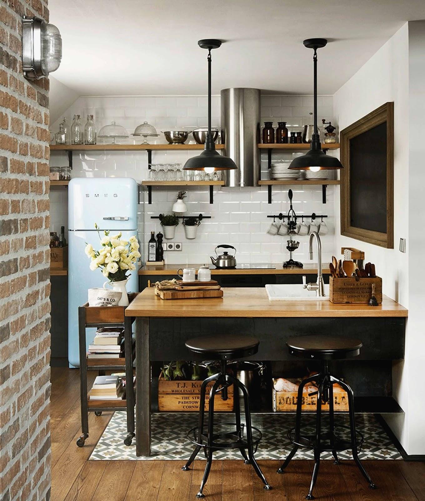 Genial Cocinas Comedor Im Genes Salon Abierto A Cocina Con  # Muebles De Cocina Jaque Mate