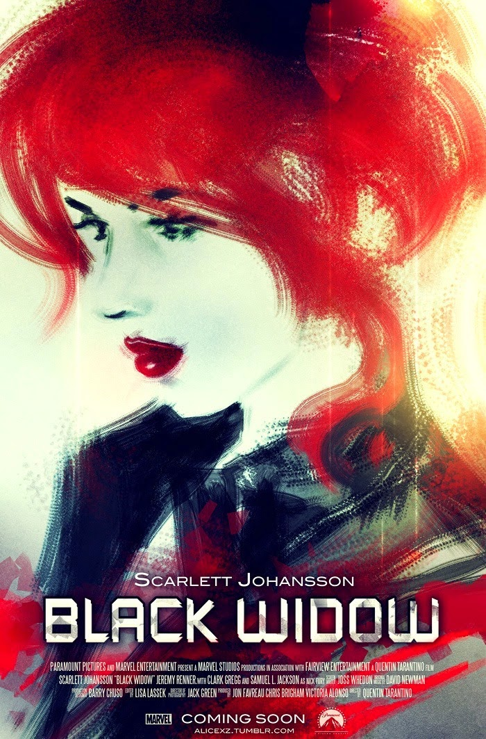 Geek Art Gallery: Posters: Black Widow and Captain Marvel - photo#41