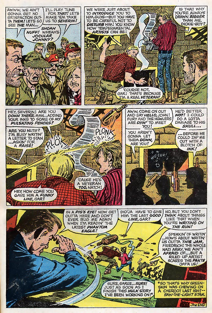 Read online Sgt. Fury comic -  Issue # _Special 4 - 65