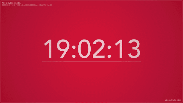 Screensaver The Colour Clock