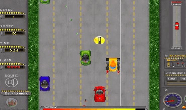 تحميل لعبة road attack للكمبيوتر برابط مباشر وحجم صغير